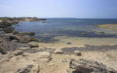 La playa de Es Carnatge